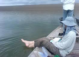 มือไม่พายเอาเท้าราน้ำ